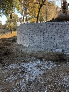 retaining wall builder maryville il